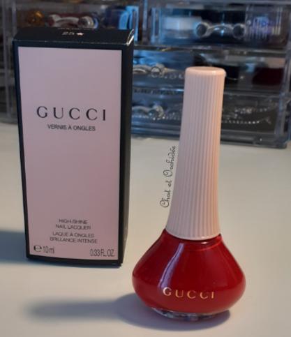 Gucci nail lacquer